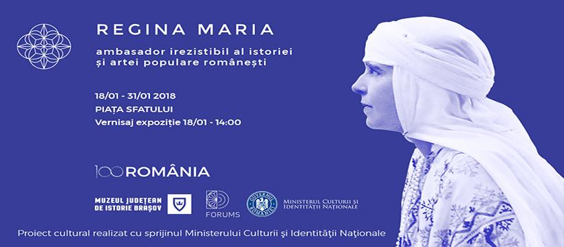 Regina Maria, ambasador irezistibil al istoriei și artei populare românești @ Muzeul Județean de Istorie Brașov