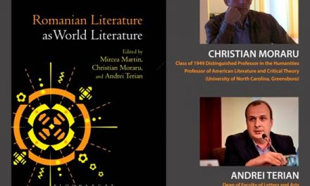 Romanian Literature as World Literature @ ICR New York