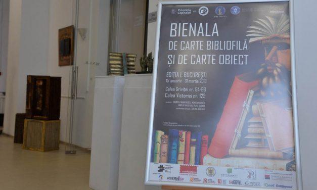 Bienala de Carte Bibliofilă și de Carte-Obiect la Muzeul Național al Literaturii Române