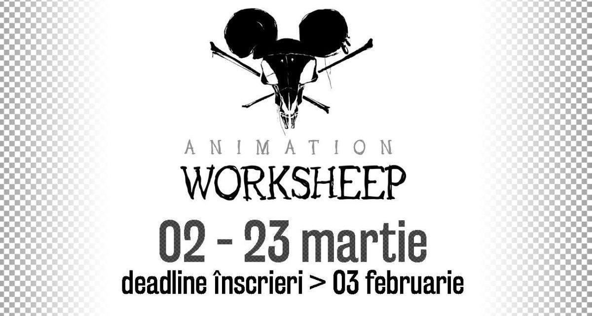 Start pentru înscrieri la Animation Worksheep, ediția a 10-a