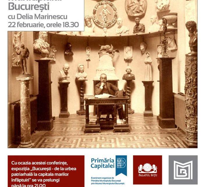 """""""Bucureștiul muzeelor pierdute: Pinacoteca Municipiului București"""" @ Muzeul Municipiului București – Palatul Suțu"""