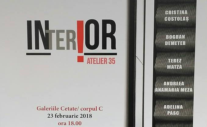 """""""INTERIOR"""" – Galeria de Artă din Cetatea Oradea"""
