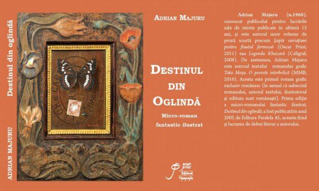 """Adrian Majuru – Lansare de carte – """"Destinul din oglindă"""""""