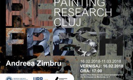 """Expoziție de pictură Andreea Zimbru @ Galeria de artă """"Paul Sima"""" a Universităţii Babeş-Bolyai"""