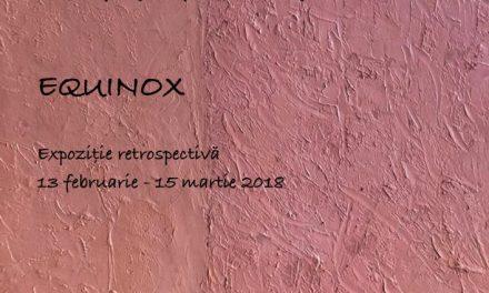 """Expoziție retrospectivă Mihai Horea """"Equinox"""" @ Galeria Romană, București"""