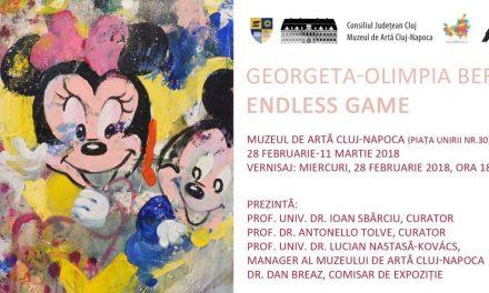 """Georgeta-Olimpia Bera """"Joc continuu / Endless Game"""" @ Muzeul de Artă Cluj-Napoca"""