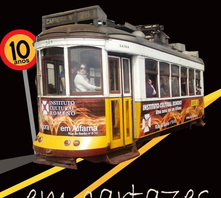 10 ani de afiş românesc la Lisabona