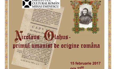 """Expoziţia """"Nicolaus Olahus – primul umanist de origine română"""" la Galeria la Rond, Chişinău"""