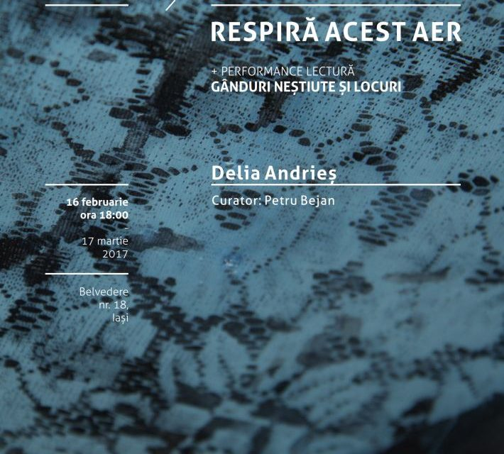 "Expoziție de pictură, Delia Andrieș ""Respiră acest aer"" (Breathe This Air) @ Borderline Art Space, Iași"