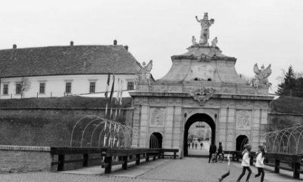 Alba Iulia în alb-negru