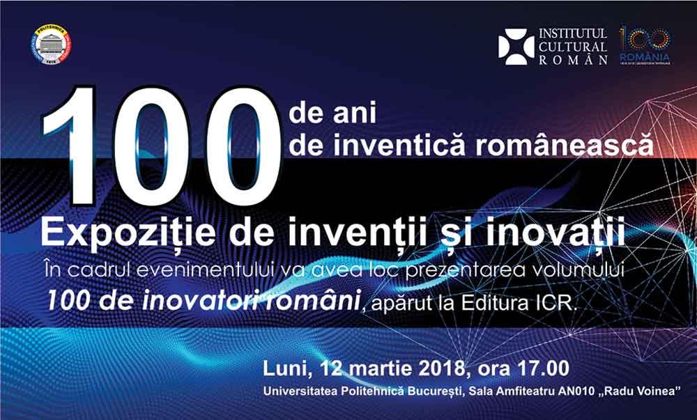 100 de ani de inventică românească