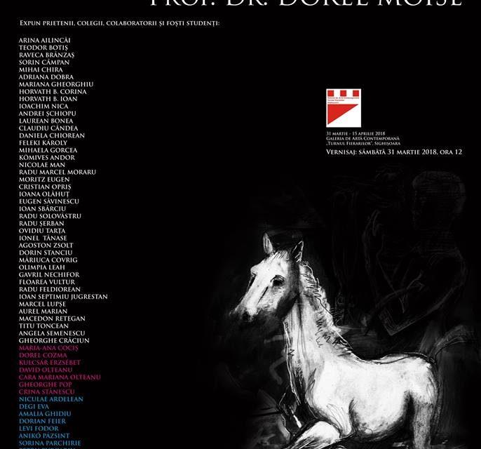 """Expoziţia """"In Memoriam Prof. Dr. Dorel Moise"""" la Sighișoara"""