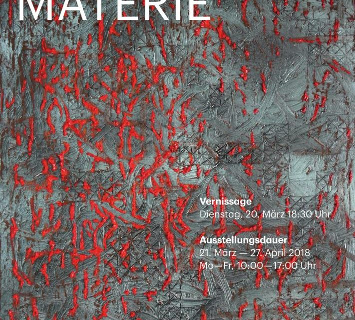 """Expoziţia """"MATERIE"""" a artistului Róbert Köteles la Galeria ICR Viena"""