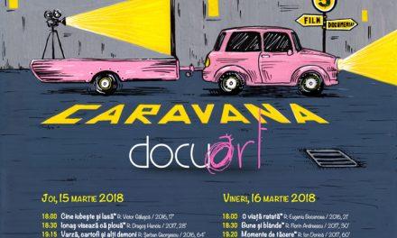 Caravana Docuart proiectează la Brașov pe 15 și 16 martie documentare premiate și aplaudate