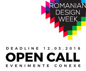 Romanian Design Week 2018: noutăți și call for projects