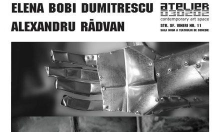 """Elena Dumitrescu / Alexandru Rădvan""""APOLLO & DAPHNE"""" @ ATELIER 030202, București"""