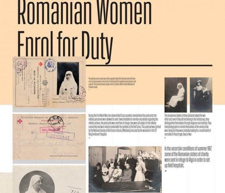 """Expoziția """"Războiul la feminin: româncele în Primul Război Mondial"""" se deschide la Londra"""