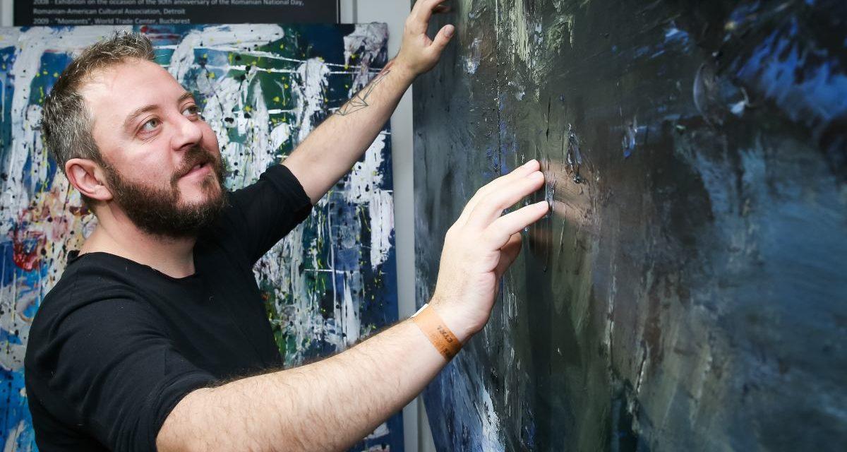 Pictorul Bogdan Mihai Radu – premiul I la Oxford International Art Fair 2018