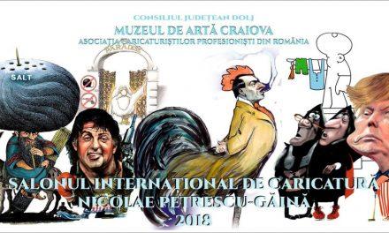 Salonul Internațional de Caricatură Nicolae Petrescu-Găină @ Muzeul de Artă Craiova