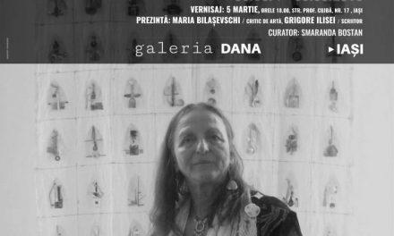 """Suzana Fântânariu, """"Uitat în manuscris"""" @ Galeria de artă DANA Iași"""