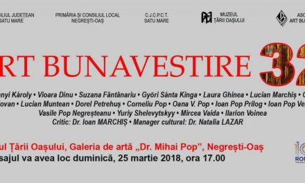 Expoziția Art Bunavestire 2018 – MUZEUL ȚĂRII OAȘULUI / NEGREȘTI-OAȘ