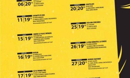 Teatrul de Artă București – programul lunii mai