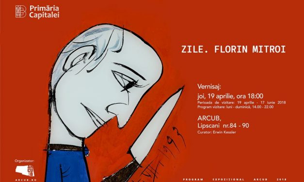 """Expoziția """"Zile. Florin Mitroi"""" @ ARCUB, Centrul Cultural al Capitalei"""