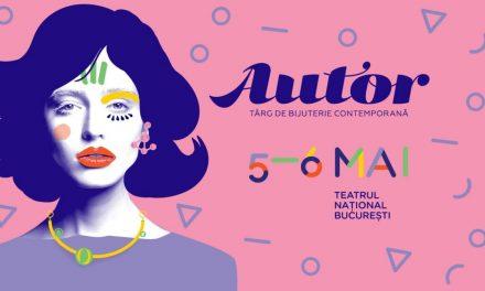 AUTOR 2018 va avea loc pe 5 și 6 mai la Teatrul Național București