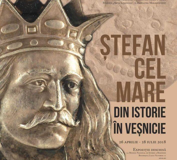 """Deschiderea expoziției """"Ștefan cel Mare. Din istorie în veșnicie"""" @ Muzeul Naţional de Istorie a României"""
