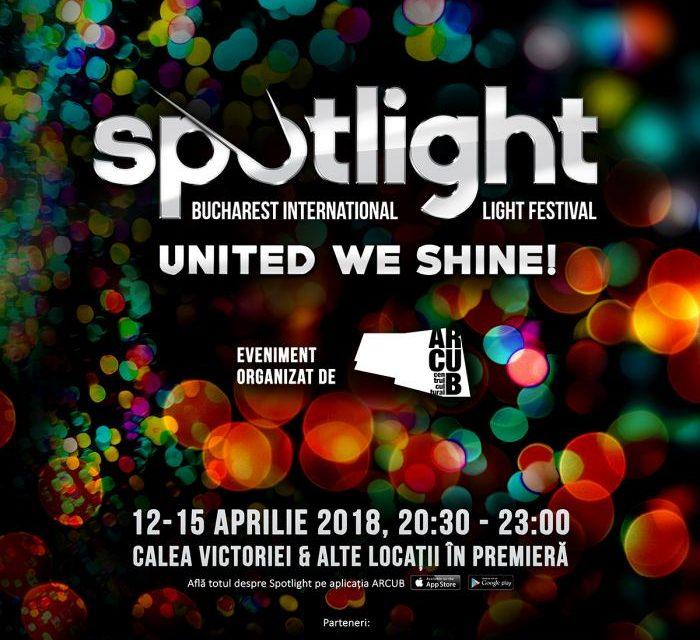 A patra ediție Spotlight – Bucharest International Light Festival