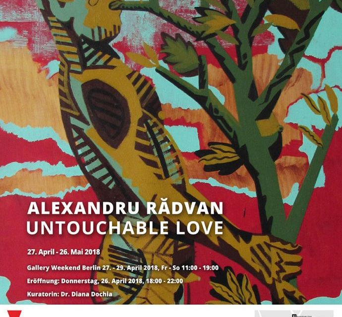 "Alexandru Rădvan ""Untouchable Love"" @ Anaid Art Gallery, Berlin"
