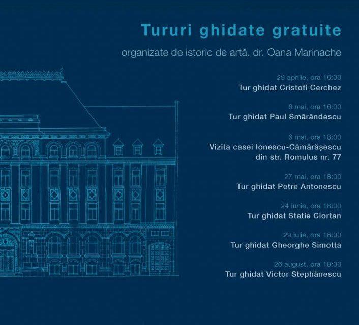 """Tururi ghidate gratuite cu tema """"Arhitectura neoromânească în slujba Marii Uniri"""""""