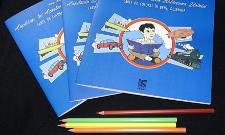 """Lansarea cărții de colorat în Benzi Desenate """"Copilăria lui Constantin Bălăceanu Stolnici"""" @ Muzeul Municipiului București"""