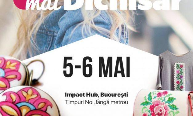 5-6 Mai | #maiDichisar – Târg de primăvară mai fun, mai fresh, mai dichisit