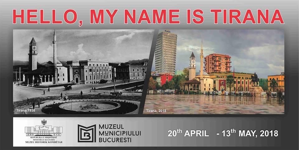 O seară specială: Vernisajul expoziției HELLO, MY NAME IS TIRANA și concert Arlinda Morava @ Muzeul Municipiului București – Palatul Suțu