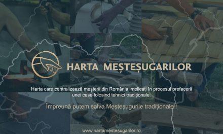 S-a lansat HARTA MEȘTEȘUGARILOR DIN ROMÂNIA