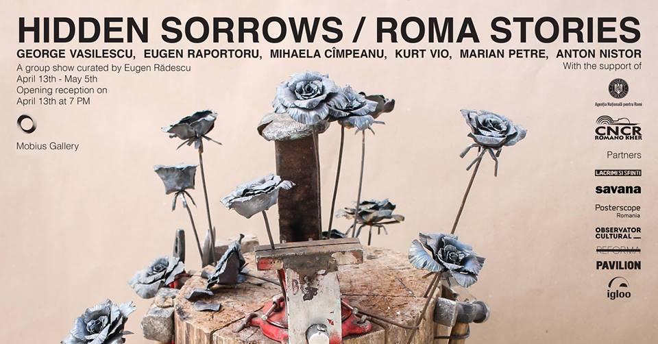 Opening Hidden Sorrows / Roma Stories @ Mobius Gallery, București
