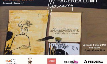 """Sorin Ilfoveanu """"Facerea Lumii"""" @ Galeria Rotenberg-Uzunov, București"""