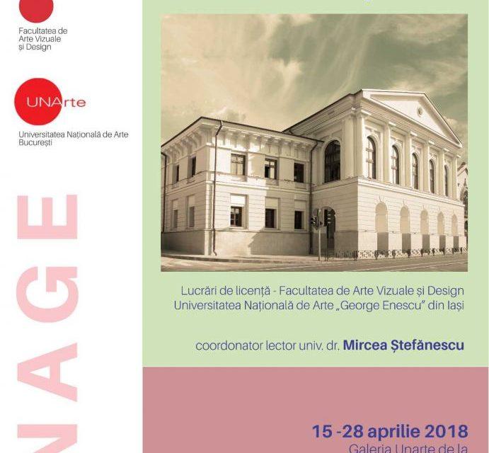 """Expoziție de sculptură a studenților din Universitatea Națională de Arte """"George Enescu"""" din Iași @ UNAgaleria, București"""