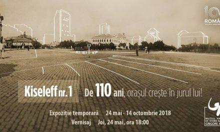 """""""Kiseleff nr. 1 – De 110 ani, orașul crește în jurul lui!"""" @ Muzeul Naţional de Istorie Naturală """"Grigore Antipa"""", București"""