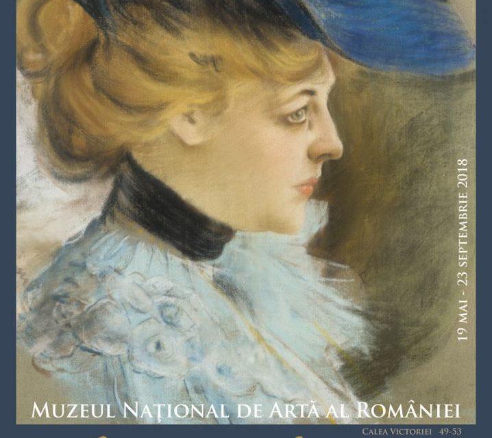 """Expoziţia """"Ştefan Luchian, maestrul artei grafice româneşti"""" @ Muzeul Naţional de Artă al României"""