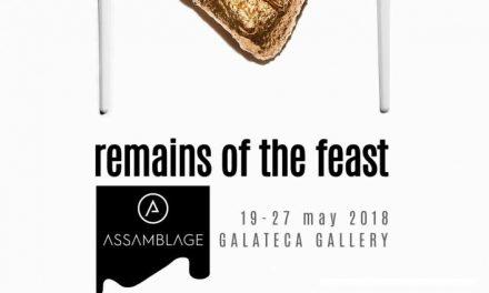 """Remains of the Feast"" – Instalație mixed media Romanian Design Week și Noaptea Muzeelor 2018"