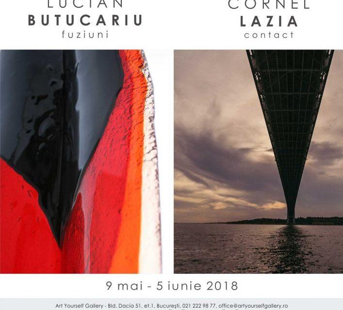 """Cornel Lazia """"Contact"""" și Lucian Butucariu """"Fuziuni"""" @ Art Yourself Gallery, București"""