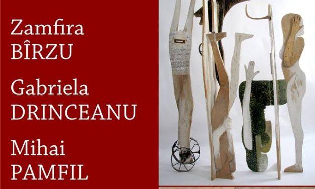 """EXPOZIȚIE DE PICTURĂ ȘI SCULPTURĂ""""OMUL PE CALE"""" – ZAMFIRA BÎRZU, GABRIELA DRINCEANU ȘI MIHAI PAMFIL @ COMPLEXUL MUZEAL NAȚIONAL ,,MOLDOVA""""– MUZEUL DE ARTĂ – PALATUL CULTURII, Iași"""
