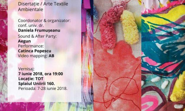 """Expoziţe de artă vizuală Liliana Bădălău """"Delirium- Butterfly Effect"""" @ Tot, București"""