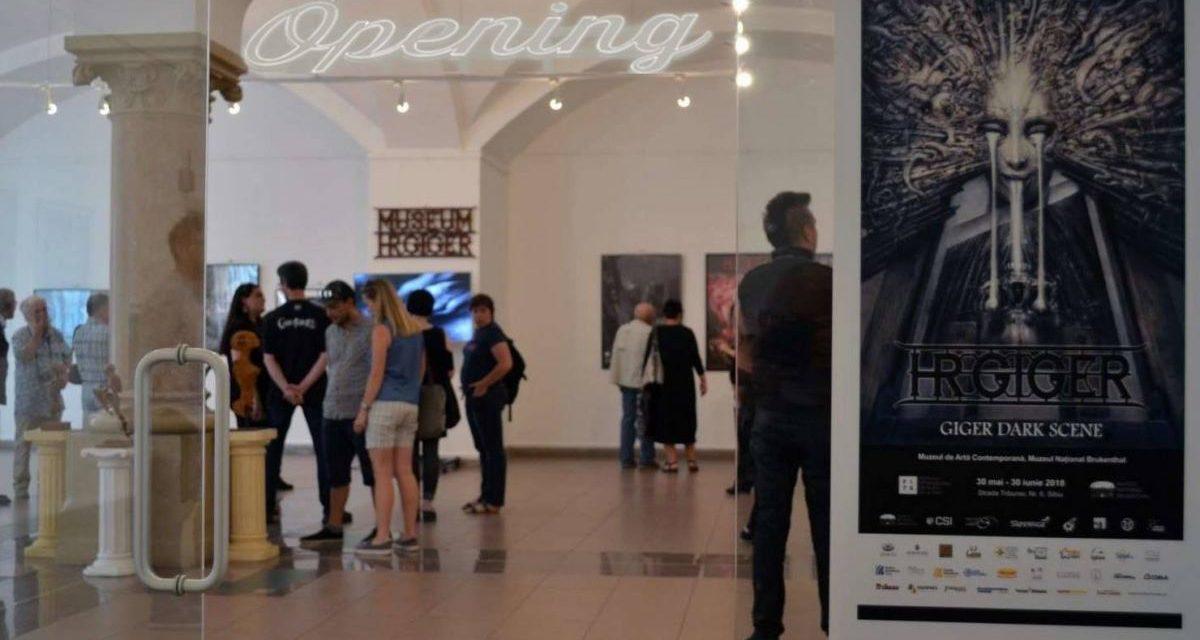 """Expoziția """"HR GIGER – Dark Scene"""" @ Muzeul Național Brukenthal"""