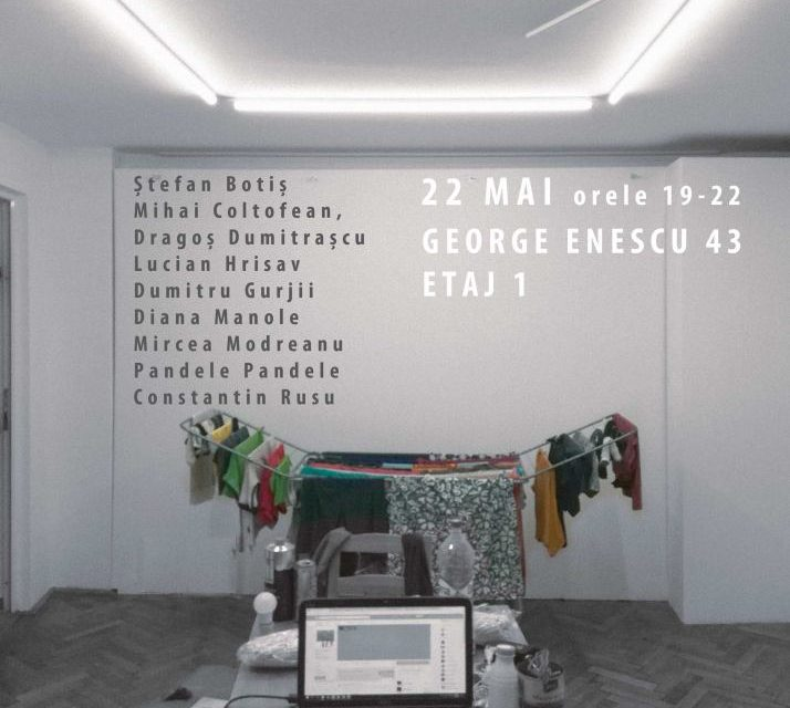 "Expoziția ""MYSTIC NOTHING"" @ ETAJ ARTIST RUN SPACE, București"