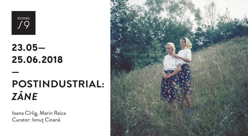 """Expoziția Ioana Cîrlig și Marin Raica """"Postindustrial : Zâne"""" @ Rezidența BRD Scena9, București"""