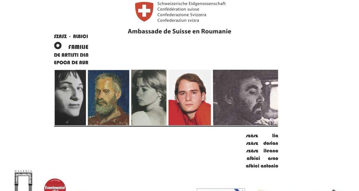 """Expoziția """"Szasz-Albici: o familie de artiști în Epoca de Aur"""" @ Galeria Romană, București"""