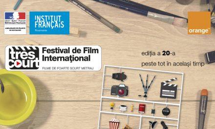 Festivalul internațional de foarte scurtmetraj Très Court 1-10 iunie în toată România